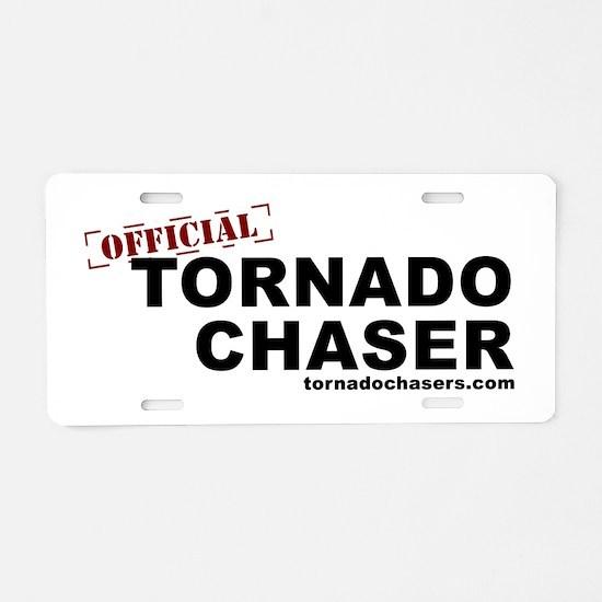 Unique Storm chaser Aluminum License Plate
