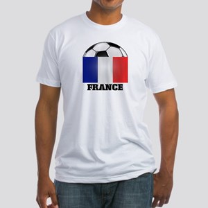 France Soccer Fitted T-Shirt