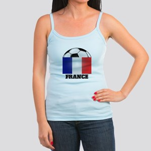 France Soccer Jr. Spaghetti Tank