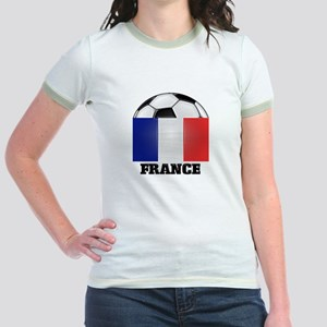 France Soccer Jr. Ringer T-Shirt
