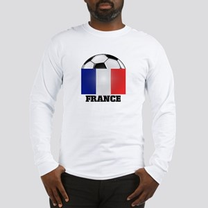 France Soccer Long Sleeve T-Shirt