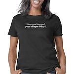 huggedyourbelayer_CPdark Women's Classic T-Shirt