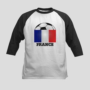 France Soccer Kids Baseball Jersey