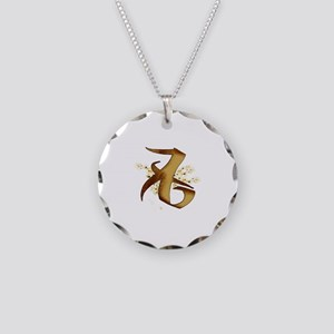 """""""Love"""" Rune - Necklace Circle Charm"""