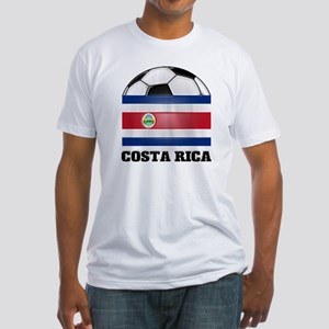 Costa Rica Soccer Fitted T-Shirt