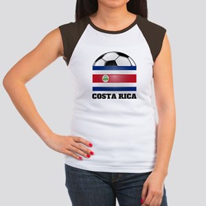Costa Rica Soccer Women's Cap Sleeve T-Shirt