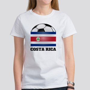 Costa Rica Soccer Women's T-Shirt
