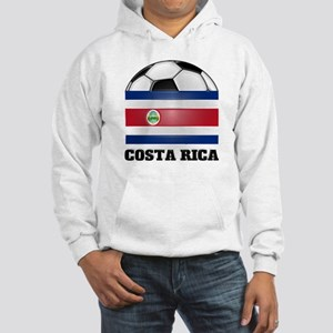 Costa Rica Soccer Hooded Sweatshirt