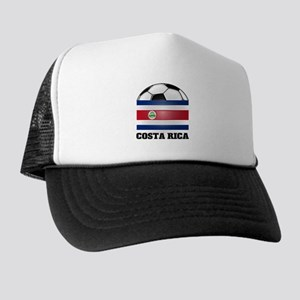 Costa Rica Soccer Trucker Hat