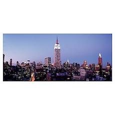 Midtown Manhattan New York NY Poster