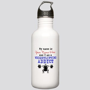 Weightlifting Addict Stainless Water Bottle 1.0L