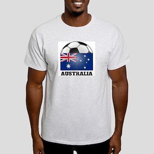 Australia Soccer Ash Grey T-Shirt