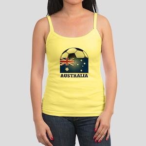 Australia Soccer Jr. Spaghetti Tank