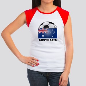 Australia Soccer Women's Cap Sleeve T-Shirt