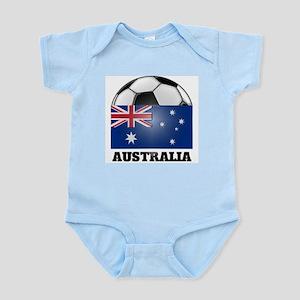 Australia Soccer Infant Creeper
