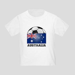 Australia Soccer Toddler T-Shirt