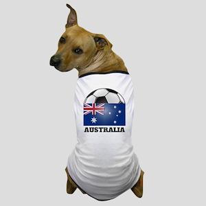 Australia Soccer Dog T-Shirt