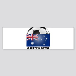 Australia Soccer Bumper Sticker