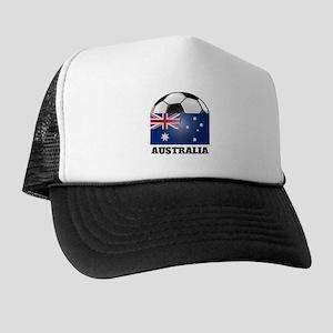 Australia Soccer Trucker Hat