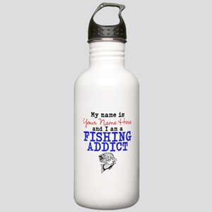 Fishing Addict Stainless Water Bottle 1.0L