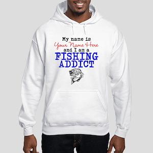 Fishing Addict Hooded Sweatshirt