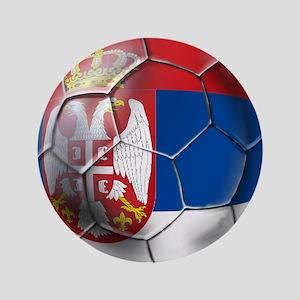 """Serbian Football 3.5"""" Button"""