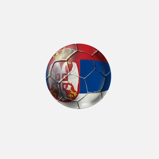 Serbian Football Mini Button