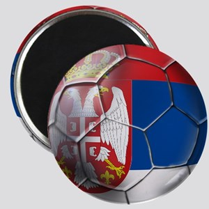 Serbian Football Magnet