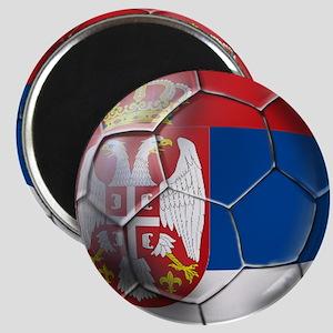 Serbian Football Magnet