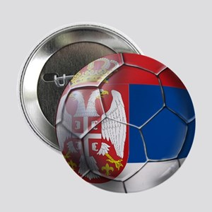 "Serbian Football 2.25"" Button"
