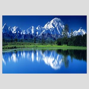 Mt McKinley and Wonder Lake Denali National Park A