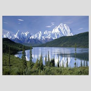 Mt McKinley Alaska Range Wonder Lake Denali Nation