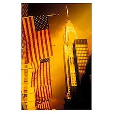 Chrysler Building New York Poster
