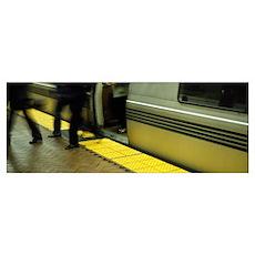 Bay Area Rapid Transit San Francisco CA Poster