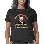 Hillary because 11 trsp Women's Classic T-Shirt