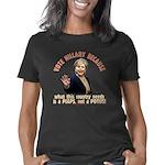 Hillary because 13 trsp Women's Classic T-Shirt