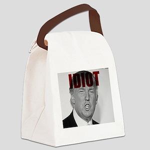 Trump Idiot Canvas Lunch Bag