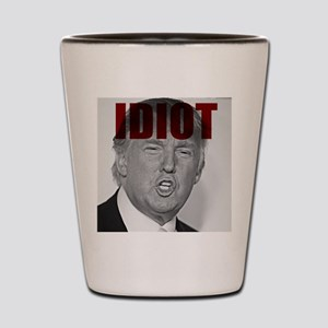 Trump Idiot Shot Glass