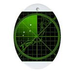 Radar1 Ornament (Oval)