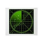 Radar1 Throw Blanket