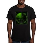 Radar1 Men's Fitted T-Shirt (dark)