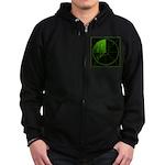 Radar1 Zip Hoodie (dark)
