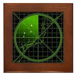 Radar1 Framed Tile