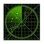 Radar1 Tile Coaster