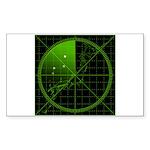 Radar1 Sticker (Rectangle 10 pk)