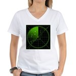 Radar1 Women's V-Neck T-Shirt