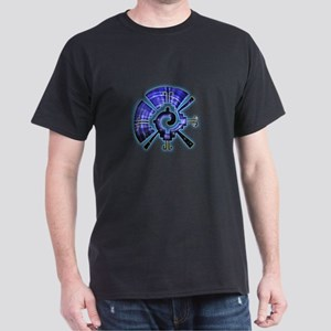 Galactic Butterfly Dark T-Shirt