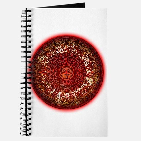 Mayan Calander Sun Journal