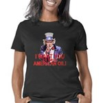 3-Uncle Sam Drill Oil blk Women's Classic T-Shirt