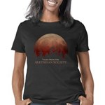 Blood moon with tentacles  Women's Classic T-Shirt